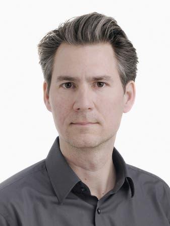 Professor Dominik Georgie von der Hochschule Luzern.