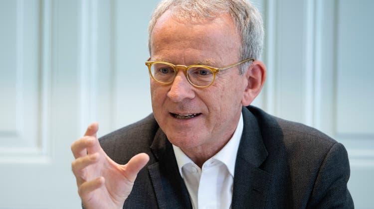 Der Datenschutz- und Öffentlichkeitsbeauftragte Adrian Lobsiger kritisiert das Finanzdepartement. (Keystone)