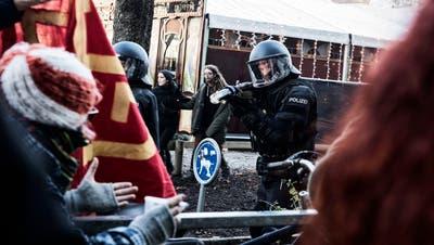 Die Folgen der «Basel Nazifrei»-Demonstration wird die Basler Justiz noch lange beschäftigen. (Roland Schmid)