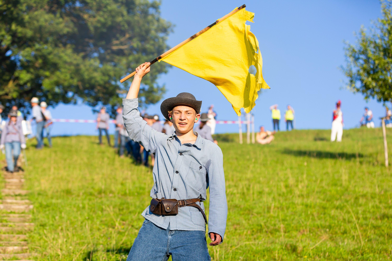 «Wir geben für den Moment auf»: Der Kadett schwenkt die gelbe Fahne. Schon heute geht der Kampf weiter.