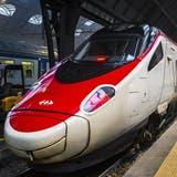 Die SBB-Eurocity treffen derzeit mit viel Verspätung im Bahnhof Milano Centrale ein. (Bild: Shutterstock)