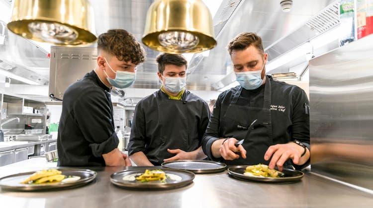 Die Gastronomie hat ein Personalproblem: Fachkräfte und Lernende sind gesucht. (Bild vom 22. Februar 2021) (Sandra Ardizzone)