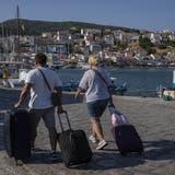 Auf der griechischen Insel Samos startet der Tourismus wieder. (AP Photo)