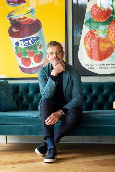 Rob Versloot, CEO der Hero-Gruppe mit Hauptsitz in Lenzburg, lebt und führt das Unternehmen mit Niederlassungen in rund 30 Ländern von Amsterdam aus, ist aber regelmässig in der Schweiz.