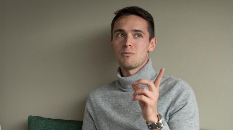 Jordi Quintillà spricht nicht nur Katalanisch und Spanisch. Er hat auch in Rekordzeit fliessend Französisch, Englisch und Deutsch gelernt. (Lisa Jenny)
