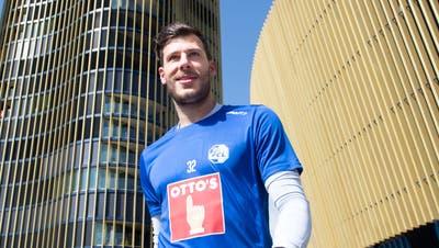 Torhüter Marius Müller bleibt dem FC Luzern und seiner Nummer 32 weiterhin treu. (Bild: Eveline Beerkircher (Luzern, 21. Juni 2021))