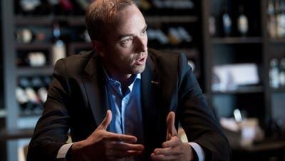 «Ich stecke unglaublich viel Herzblut in den EV Zug», sagt CEO Patrick Lengwiler. (Bild: Boris Bürgisser (Zug, 3. September 2019))