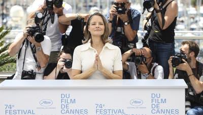 Star des Abends: Jodie Foster erhält die Goldenen Ehrenpalme. (Bild: Vianney Le Caer/AP)