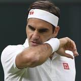 Roger Federer zieht nach seinem Wimbledon-Aus ein positives Fazit. (Neil Hall / EPA)