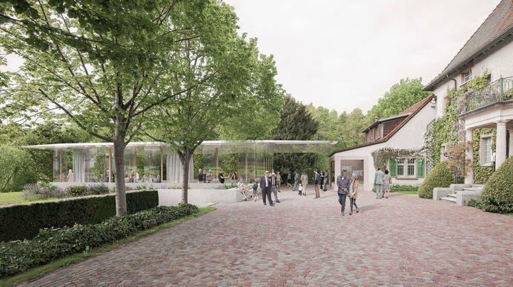 Der Pavillon wird Platz für Veranstaltungen und Vernissagen bieten. (Zvg / Aargauer Zeitung)