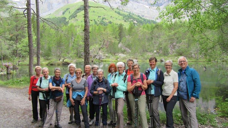 Bergwandergruppe Olten im Naturschutztal Derborence