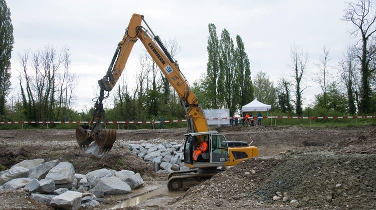 Der Vorfall ereignete sich auf einer Baustelle in Biberist (Symbolbild). (Hansjörg Sahli)