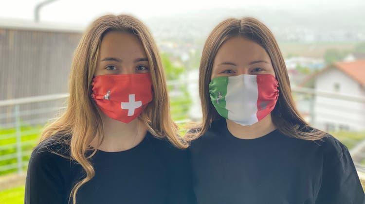 Mit den EM-Schutzmasken landete die «TexMask» einen Hit. Leider reichte es, anders als Italien, der Schweiz nicht in den EM-Final. (Zvg)