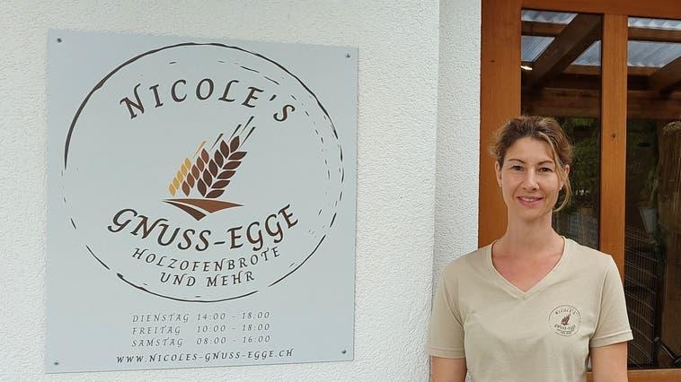 Nicole Virga hat sich ihren Traum von der eigenen Bäckerei verwirklicht. (Simon Widmer)