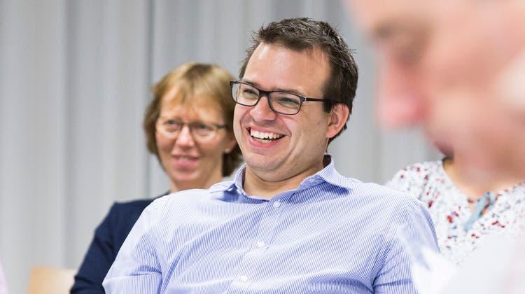 Philippe Kühni, GLP, Aarau. (Severin Bigler)