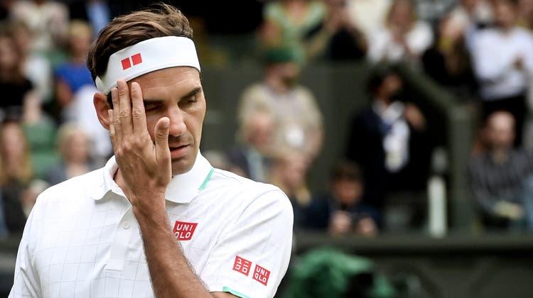 War das Spiel am Mittwoch gegen Hubert Hurkacz das letzte in Federers Karriere? (Facundo Arrizabalaga / EPA)