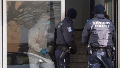In Hausen entdeckte die Polizei 2018 zwei erstochene Frauen. (Ennio Leanza)