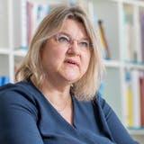 Kantonsärztin Yvonne Hummel, im Sitzungszimmer DGS in Aarau (Fabio Baranzini)