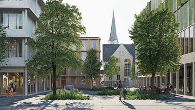 Jahrhundertprojekt schreitet voran: In Diepoldsau soll ein neues Dorfzentrum entstehen