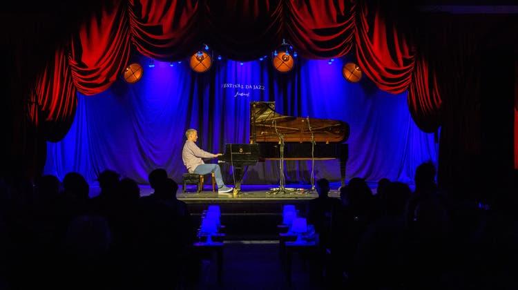 Brad Mehldauam Eröffnungskonzert im HotelReine Victoria St. Moritz. (Giancarlo Cattaneo / fotoSwiss st.moritz)