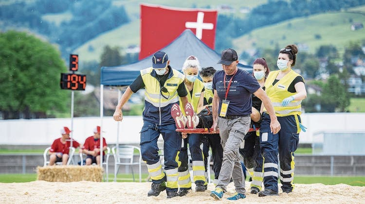Sportarzt Didi Schmidle (Bild: Pius Amrein)