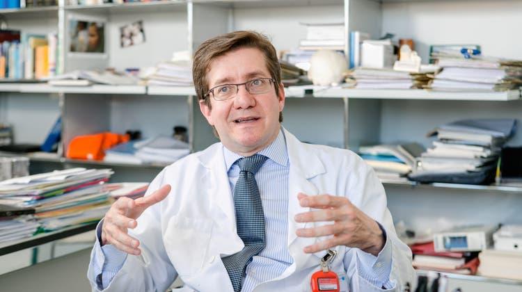 Javier Fandino, Neurochirurgie-Chefarzt. (Sandra Ardizzone)