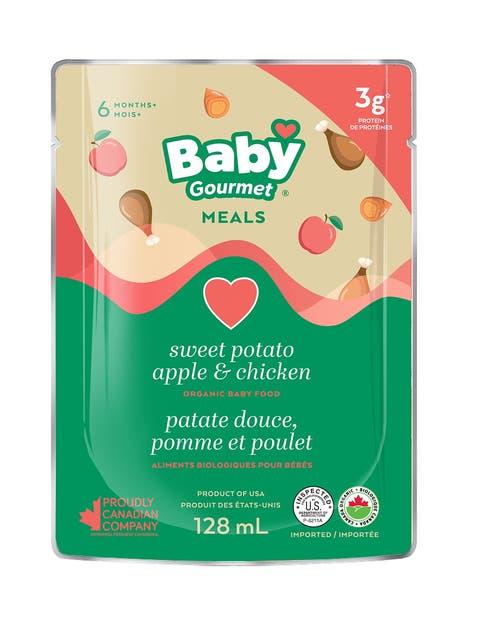 Süsskartoffel, Apfel und Poulet – Babynahrung wie dieses Hero-Produkt boomte im Coronajahr.