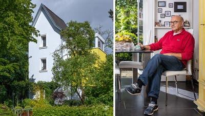 Der umgebaute Trafoturm in Möhlin. (Chris Iseli)