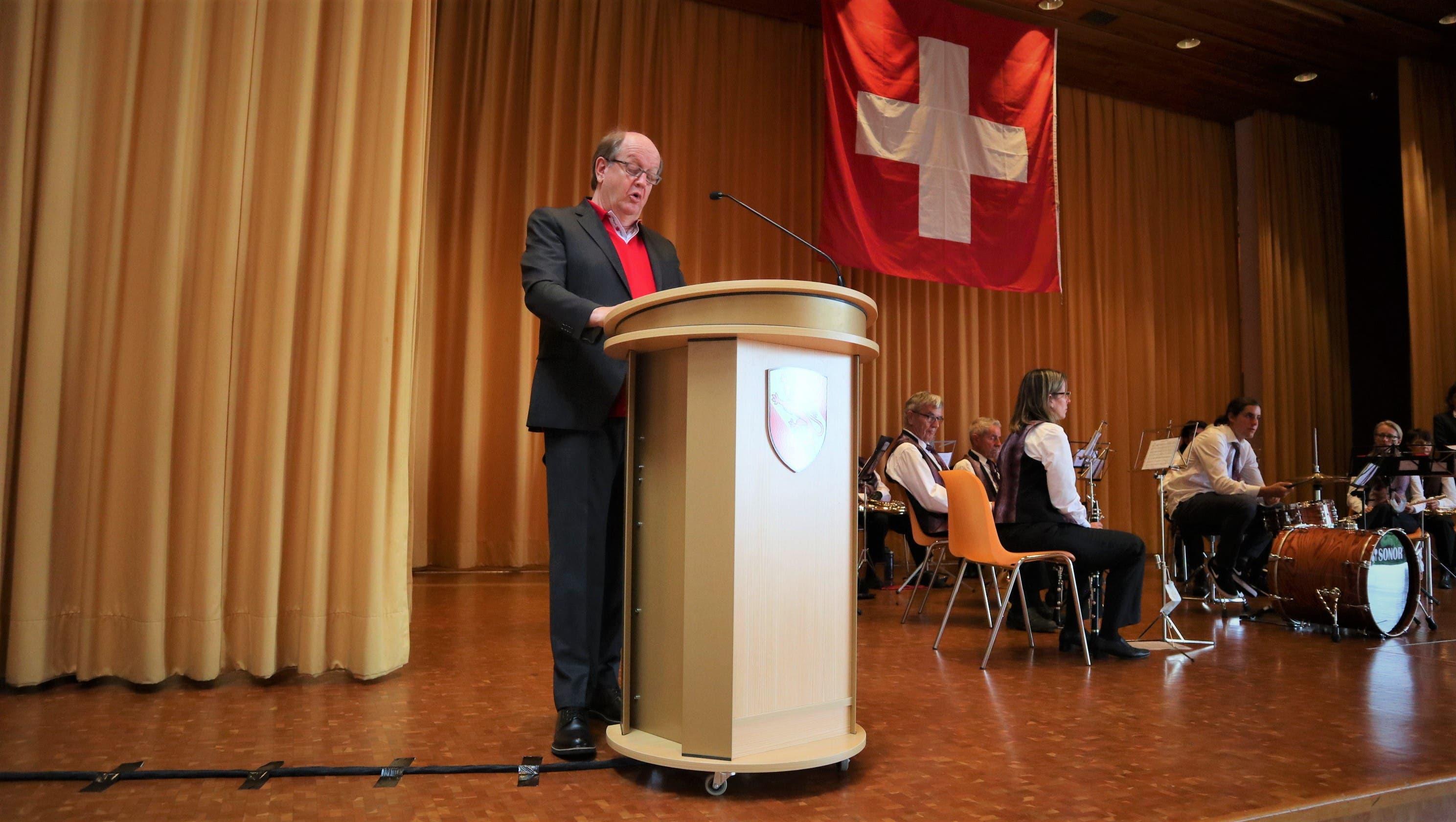 Sprach sich für mehr Freiwilligenarbeit aus: der Uitiker Sozialvorstand Daniel Schwendimann (FDP).