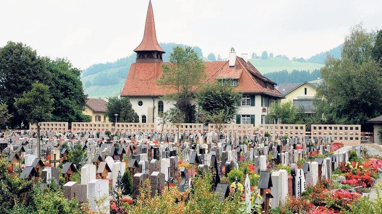 Der Appenzeller Friedhof. (Bild: PD)