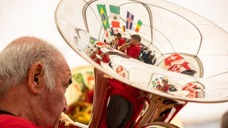 Die Bundesfeier in Wolfwil lockte 200 Gäste an. (Tom Ulrich)