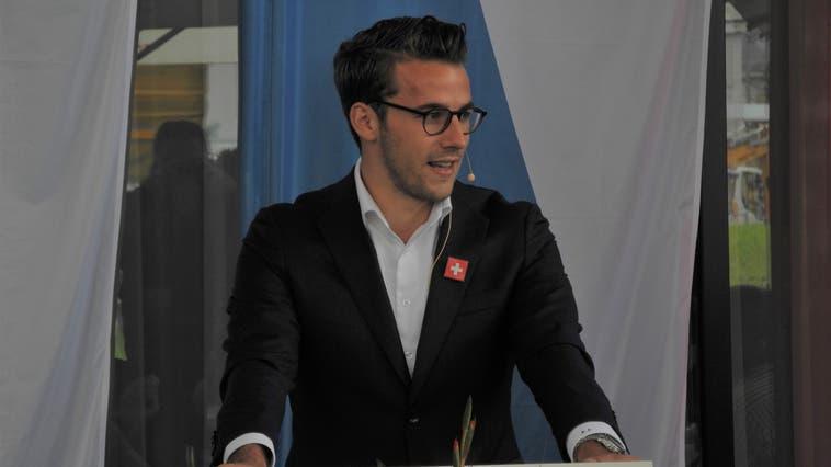 FDP-Nationalrat Andri Silberschmidt fordert, dass wird unsere Freiheitsrechte stärken. (Sandro Zimmerli)