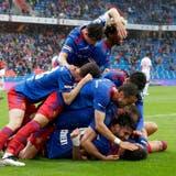 Der FC Basel spielt sich in einen Torrausch und gewinnt gegen den FC Sion mit 6:1