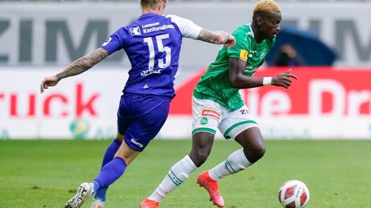 Neue Liga-Attraktion: Sebastiano Esposito jubelt bereits regelmässig für den FCB. (Georgios Kefalas / KEYSTONE)