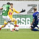 Nach einem Ausgleichstreffer der Luzerner in der 96. Minute beendet St.Gallen die Partie mit 2:2