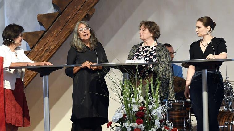 Frauenpodium statt Festrede auf Schloss Lenzburg