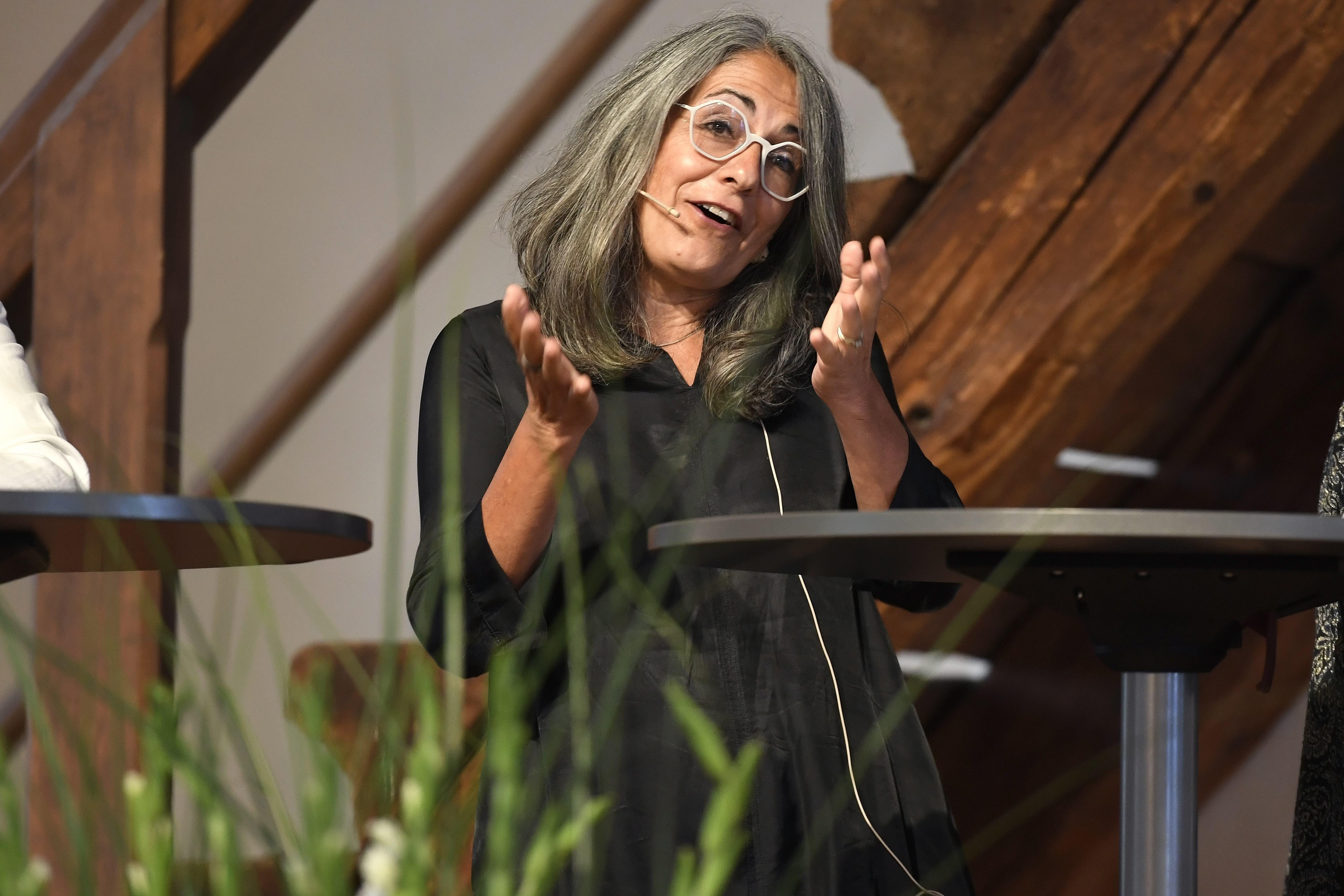 Kathrin Scholl appellierte an die Frauen, sich mehr zuzutrauen.