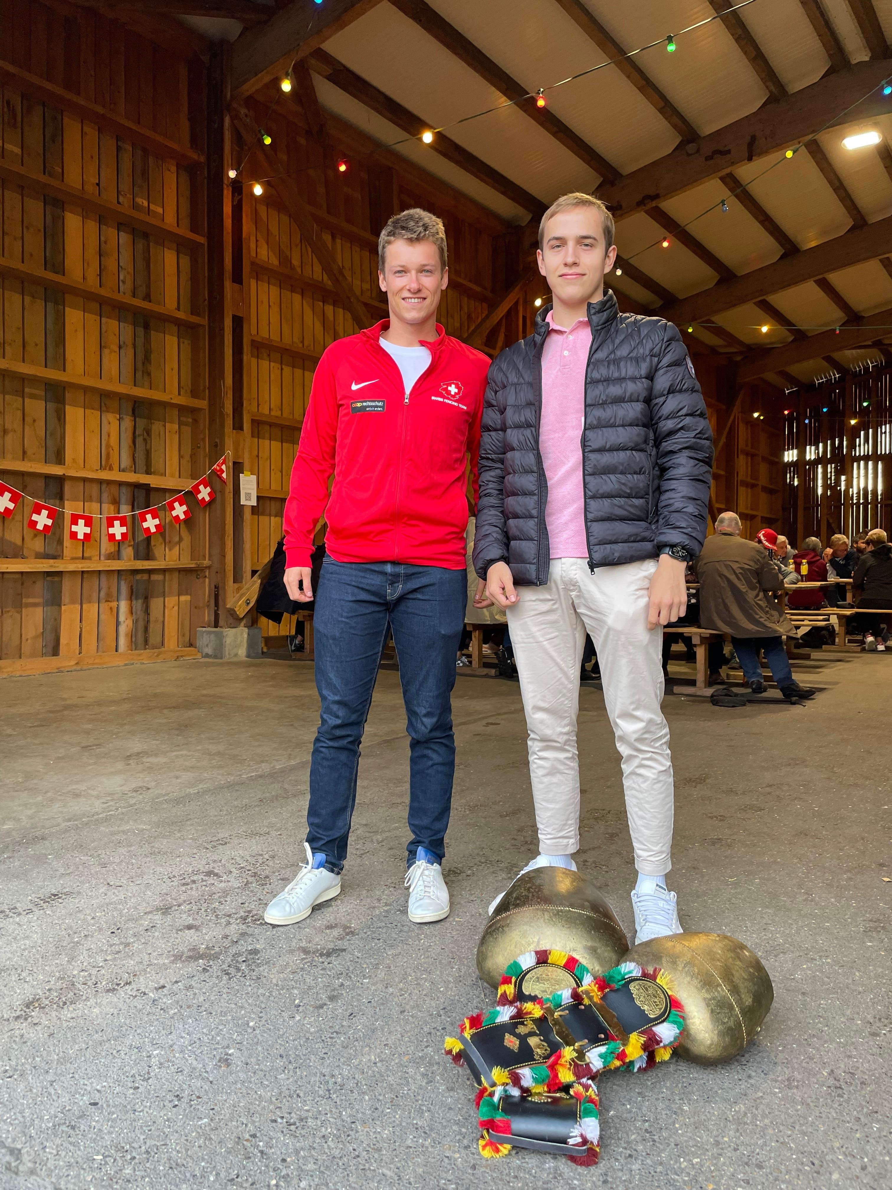 Nick Hatz und Philipp Hofstetter feierten schon viele Erfolge.