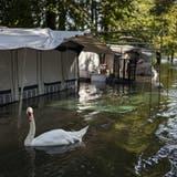 Die Schweiz leidet diesen Sommer unter den Unwettern. (Archivbild) (Keystone)