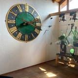 «Froh, unter den Leuten zu sein»: Kirchturmuhr im Heimatmuseum Reinach. (zvg)