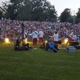 Full «House»: EinSummersprosse-Konzert im Kannenfeldpark. (Bild: zVg)