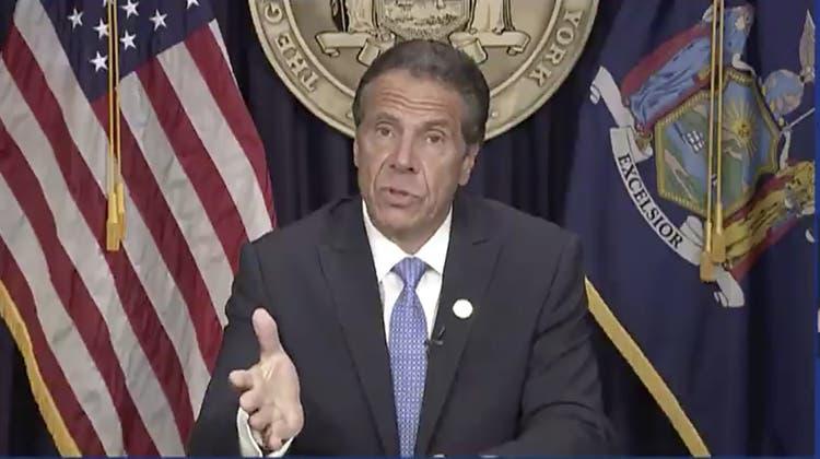 Der New Yorker Gouverneur Andrew Cuomo sieht sich als Opfer politischer Intrigen. (AP)