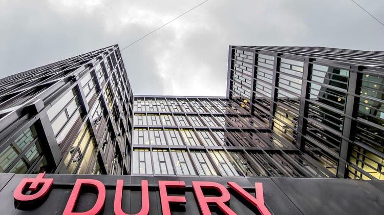 Trotz anhaltenderMillionenverluste blickt Dufry optimistisch in die Zukunft. (Keystone)