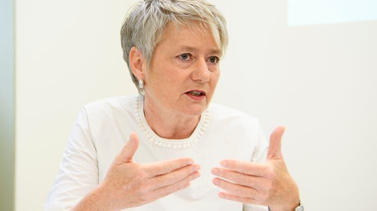 Vorerst gegen Zertifikatspflicht in Restaurants: Jacqueline Fehr (SP). (Archivbild) (Keystone)