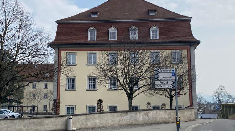 Der Gerichtssaal befindet sich im Dachgeschoss des Ostflügels des Klosters Muri. (Marc Ribolla)