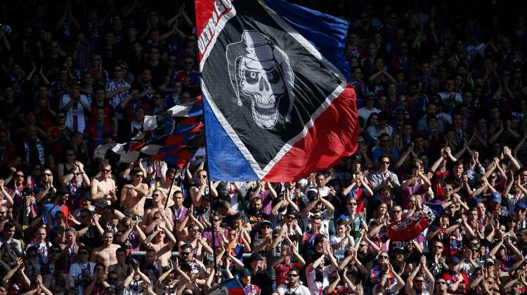 Beendet ihren Boykott: Die Muttenzerkurve. Bereits gegen Ujpest Budapest wird sie ins Stadion zurückkehren. (Freshfocus)