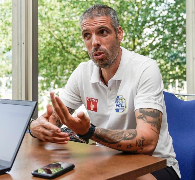 All'hotel della squadra, l'allenatore della FCL Fabio Celestini ha risposto...