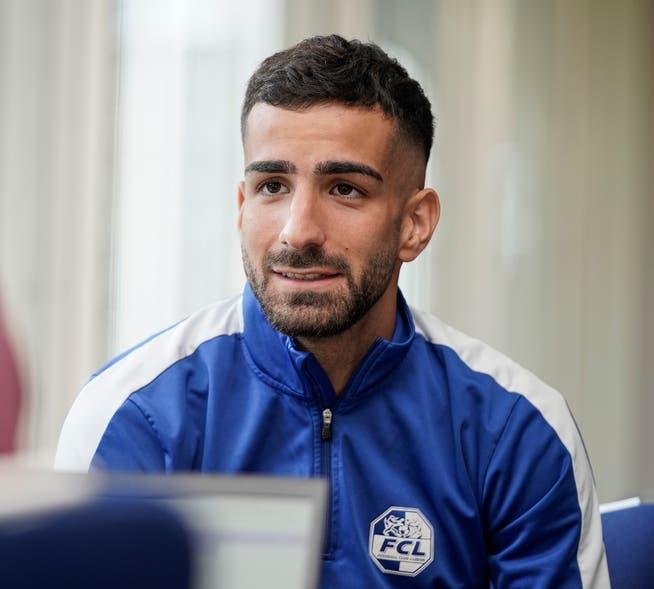 ..e il centrocampista Farol Tassar le mie domande.
