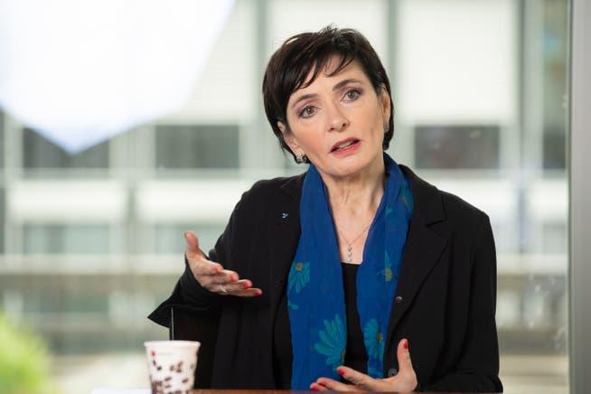 Nach Die-Mitte-Präsidentin Marianne Binder muss die Impfquote deutlich erhöht werden, um die Pandemie einzudämmen.
