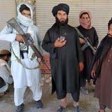 Taliban-Kämpfer patroullieren in der Stadt Farah (11. August 2021). (Mohammad Asif Khan / AP)